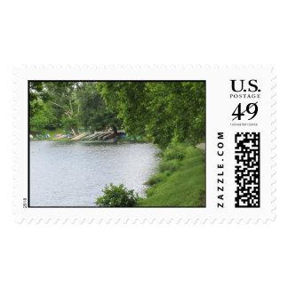 Beaver Lake Postage Stamps