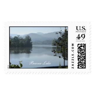 Beaver Lake Postage Stamp