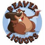 Beaver Liquors Cut Outs