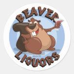 Beaver Liquors Sticker