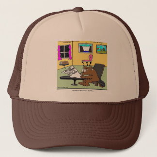 Beaver Living Wills Rick London Funny Trucker Hat