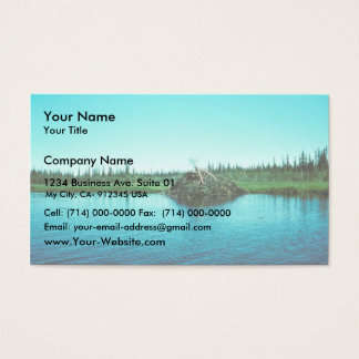 Beaver Lodge Business Card