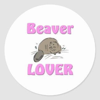 Beaver Lover Stickers