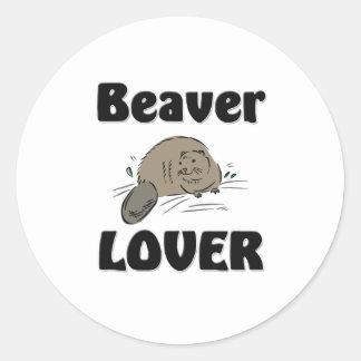 Beaver Lover Sticker