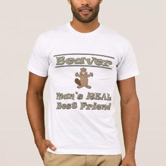 Beaver Man's Real Best Friend T-Shirt