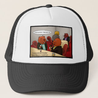 Beaver Networking Funny Gifts Tees & Cards Trucker Hat