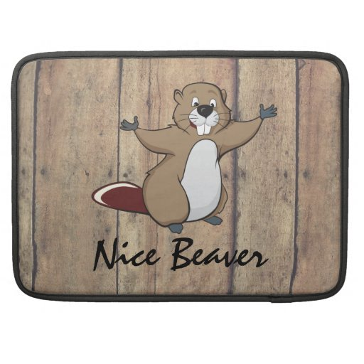 BEAVER NOTEBOOK COVER SLEEVE FOR MacBook PRO