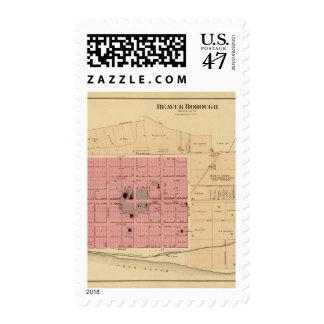Beaver, Pennsylvania Postage