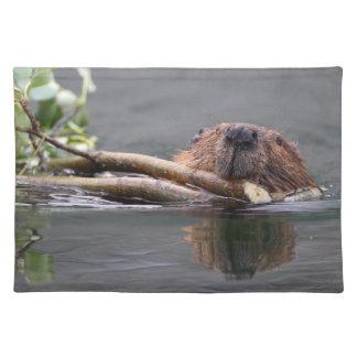 beaver place mats