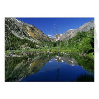 Beaver Pond, Lundy canyon Card