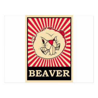 Beaver Post Card