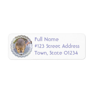 Beaver Return Address Label