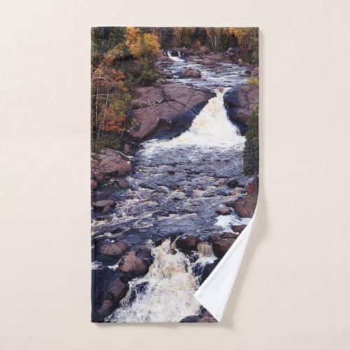 Beaver River Falls tall towel set