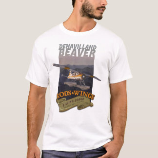 Beaver Rods Wings 1 T-Shirt
