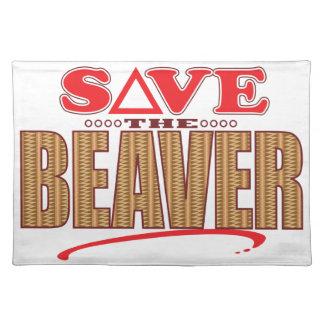 Beaver Save Placemat