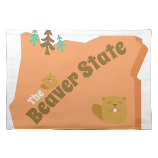 Beaver State Placemat