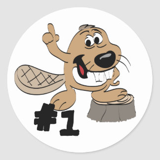 Beaver Stickers