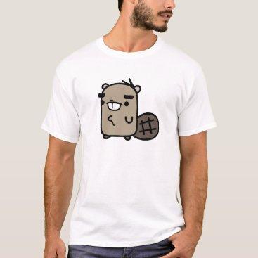 Toddler & Baby themed Beaver T-Shirt