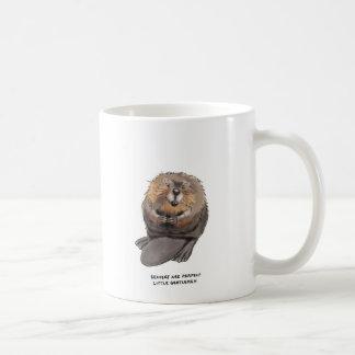 beaver trivia classic white coffee mug