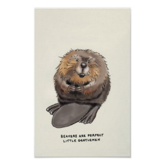 beaver trivia poster