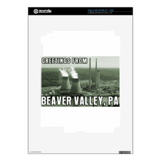 Beaver Valley Power Station PA Greetings From NUKE iPad 2 Decals