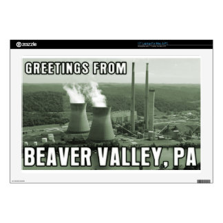 Beaver Valley Power Station PA Greetings From NUKE Laptop Decal
