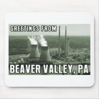 Beaver Valley Power Station PA Greetings From NUKE Mouse Pad