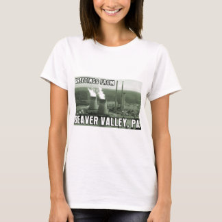 Beaver Valley Power Station PA Greetings From NUKE T-Shirt