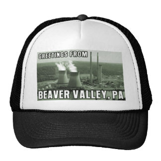 Beaver Valley Power Station PA Greetings From NUKE Trucker Hat