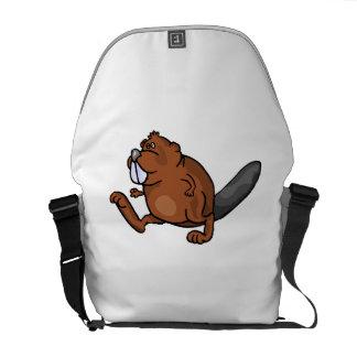 Beaver Walking Messenger Bag