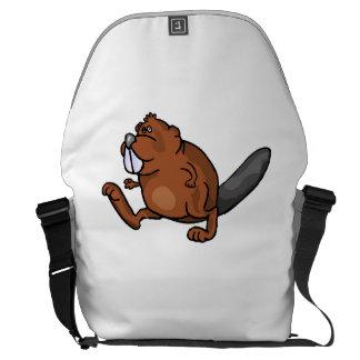 Beaver Walking Messenger Bags