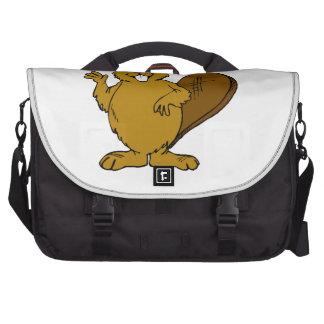 Beaver Waving Commuter Bag