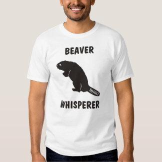 beaver whisperer t shirt