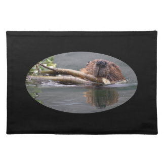 Beaver Working Cloth Placemat