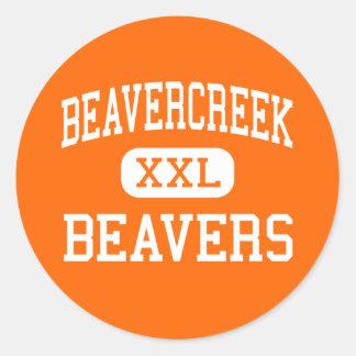 Beavercreek - Beavers - High - Beavercreek Ohio Classic Round Sticker