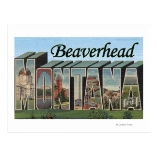 Beaverhead, Montana - escenas grandes de la letra Postales