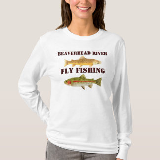 Beaverhead River Fly Fishing T-Shirt