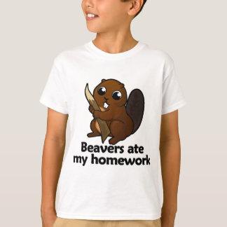 Beavers ate my homework T-Shirt