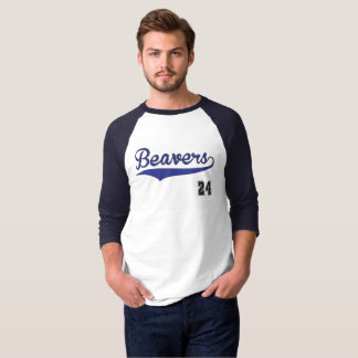 Beavers Baseball Graphic T-Shirt
