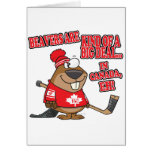 beavers kind of big deal in canada greeting card