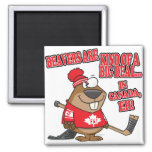 beavers kind of big deal in canada magnets