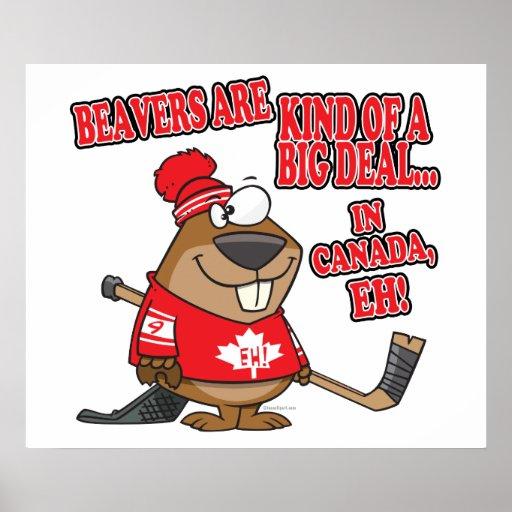 beavers kind of big deal in canada print