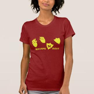 Beavers N Ducks T-Shirt