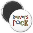 Beavers Rock Magnet