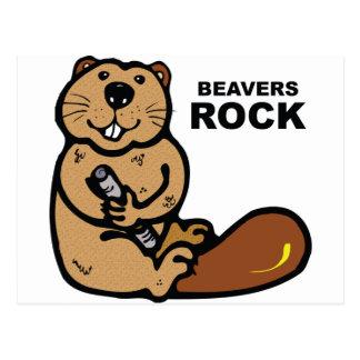 Beavers Rock Postcards