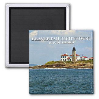 Beavertail Light, Rhode Island Magnet