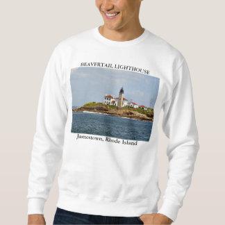 Beavertail Lighthouse, Jamestown Rhode Island Sweatshirt