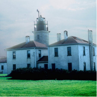 Beavertail Lighthouse Photo Sculpture