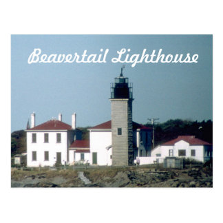 Beavertail Lighthouse Postcard  4