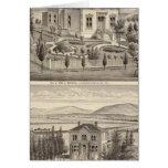 Beazell, English residences, farms Cards